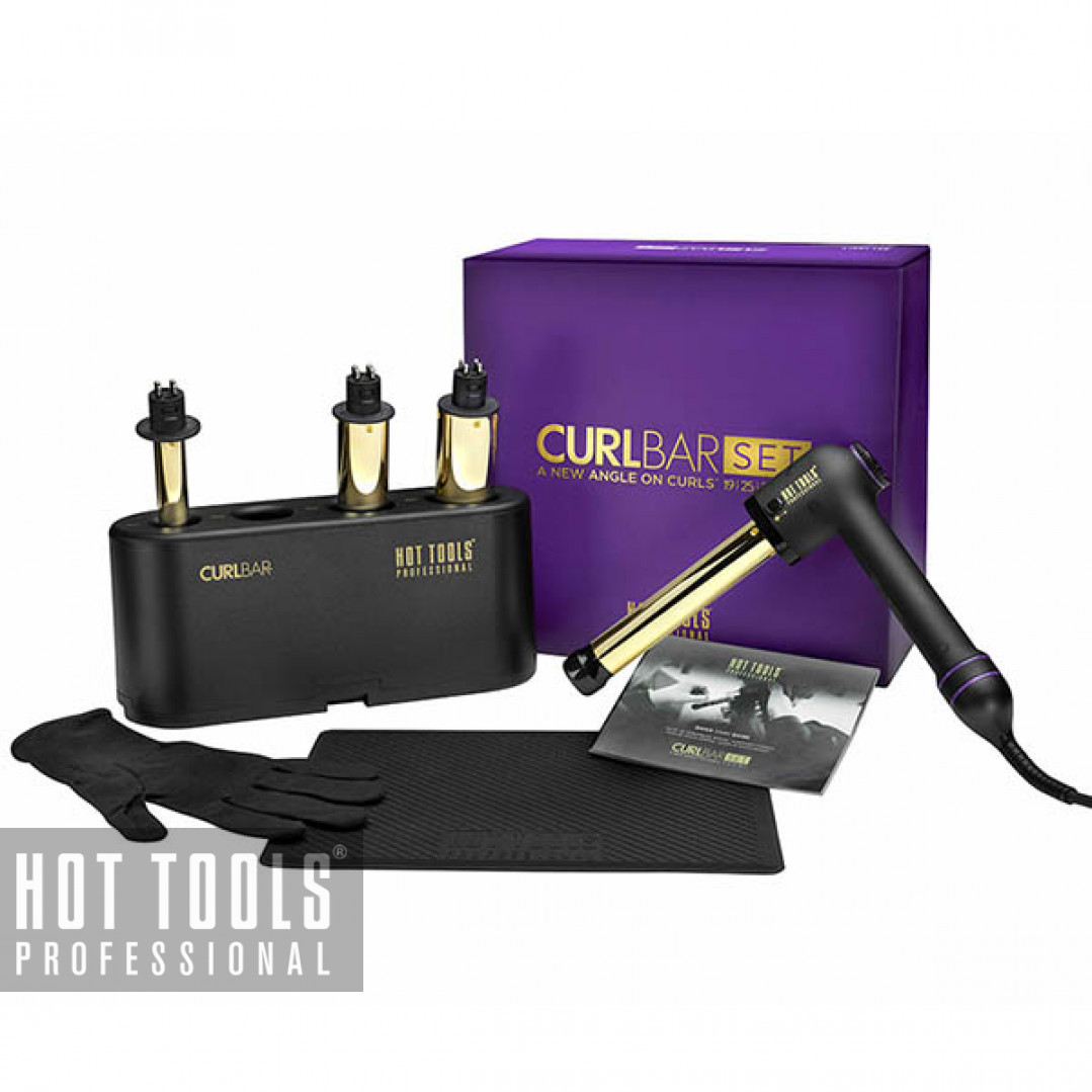 Набор сменных плоек Hot Tools Professional Curlbar set 24K Gold HTCURLSETUKE