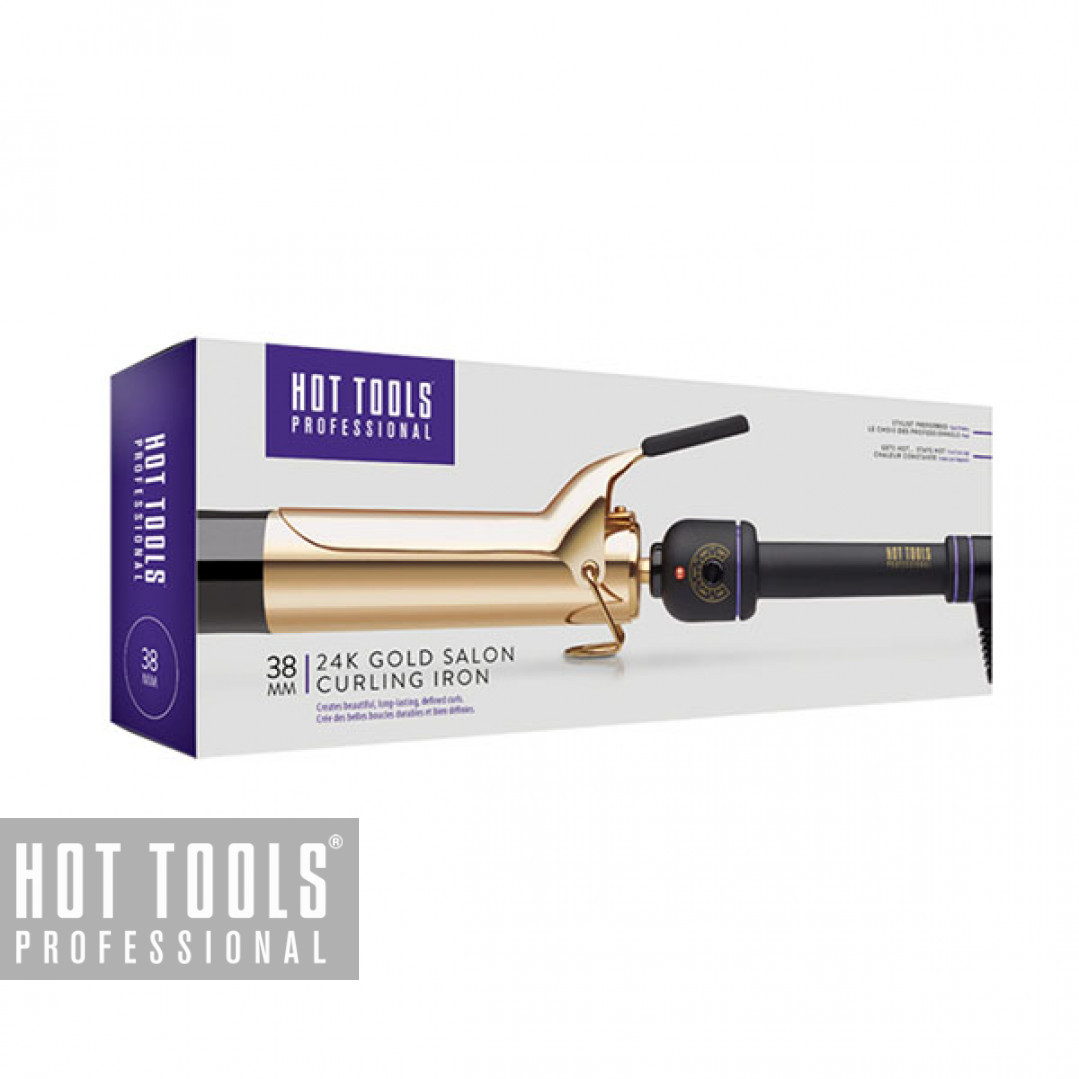 Плойка Hot Tools Professional 24K Gold Salon Curling Iron 38 мм HTIR1102E