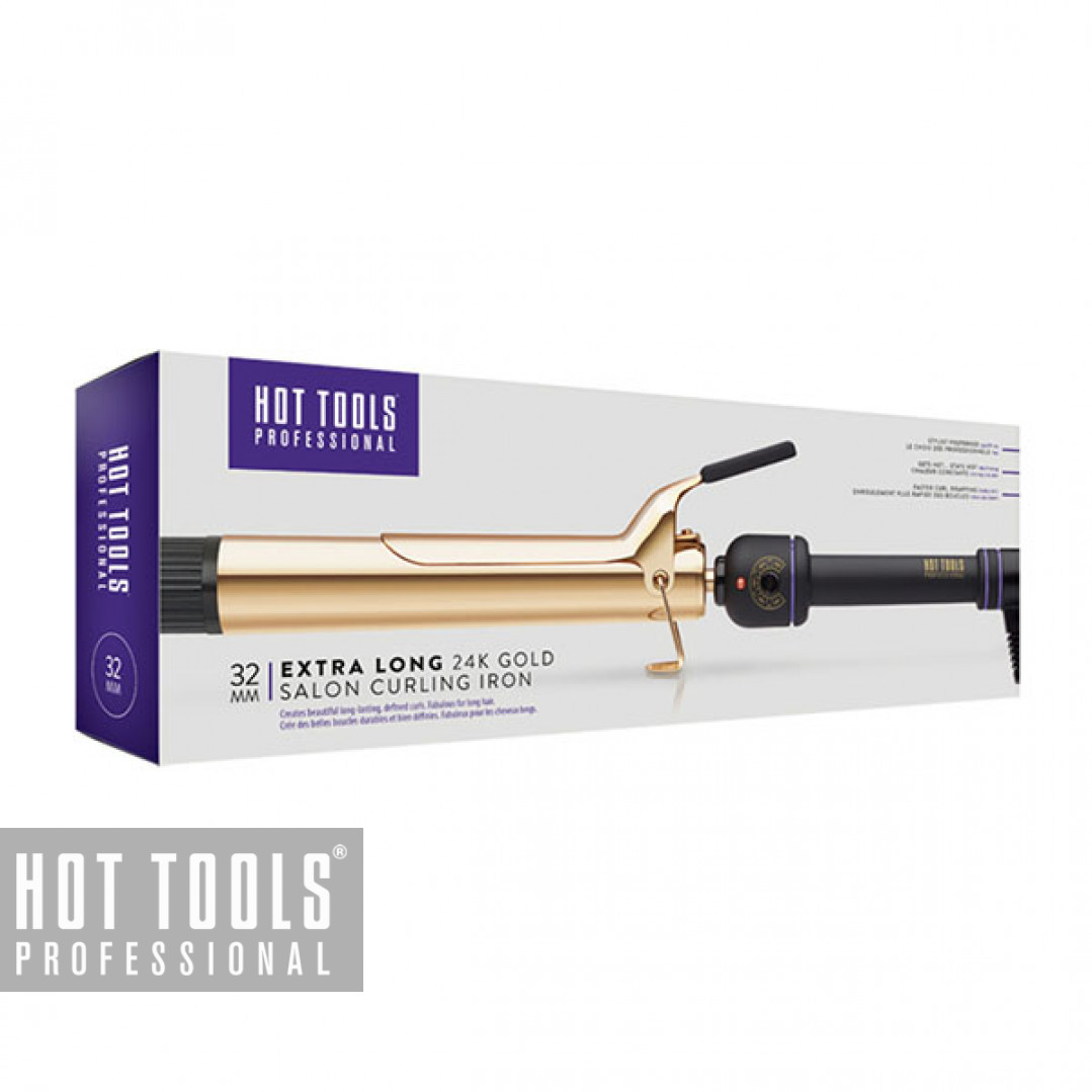 Плойка Hot Tools Professional 24K Gold Salon Curling Iron Extra Long 32 мм HTIR1110XLE